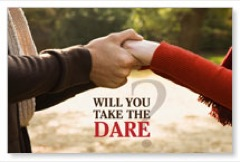 The Love Dare Postcard