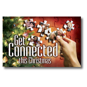 Christmas Connected Postcards