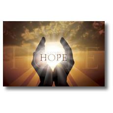 Hope Hands Postcard