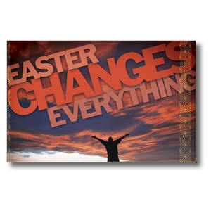 Easter Changes Everything Postcards