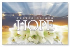 Easter Brings Hope Postcard