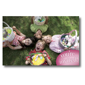 Easter Kids Invited Undefined