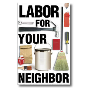 Labor for Your Neighbor Church Postcards