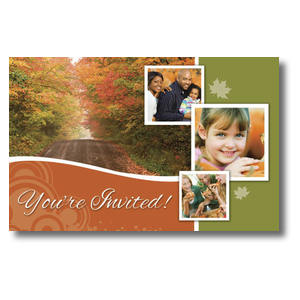 Fall Path Postcards