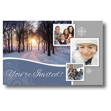 Winter Path Postcard