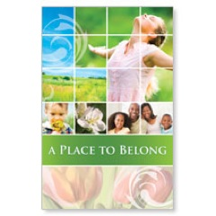 Belong Spring Postcard