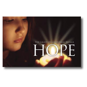 Light Brings Hope Church Postcards