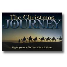 Christmas Journey Postcard