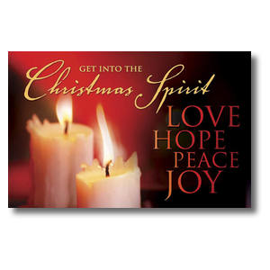 Christmas Spirit Postcards