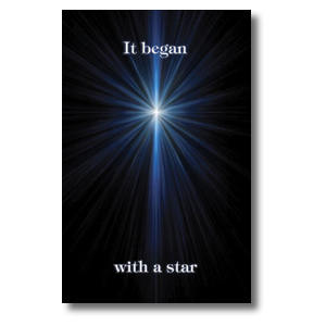Began with a Star Church Postcards
