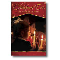 Christmas Eve Candles Postcard