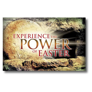 Experience Easter Power Church Postcards