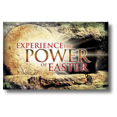 Experience Easter Power Postcard