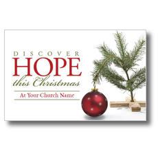 Hope Christmas Tree Postcard