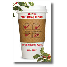 Christmas Blend Postcard