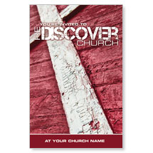 reDiscover Church: Cross Postcard