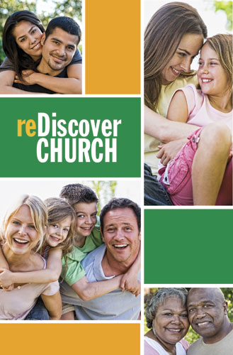 reDiscover Church:People Postcard