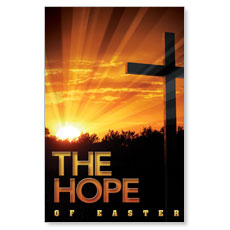 Easter Hope Cross Postcard