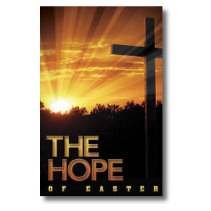Easter Hope Cross Postcards
