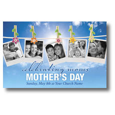 Celebrating Moms Postcard