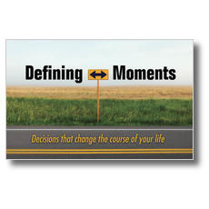 Defining Moments Postcard