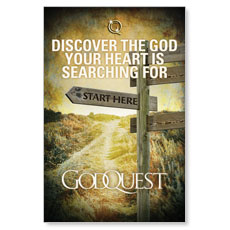 GodQuest Postcard
