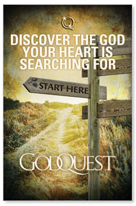 GodQuest Sign Post Postcards