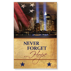 Never Forget Hope Oversized Postcard