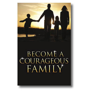 Courageous Family Postcards
