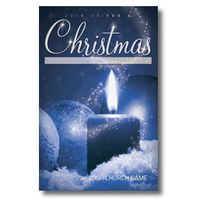 Christmas Celebration Church Postcards