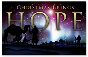 Christmas Brings Hope Postcards