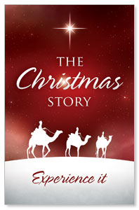 The Christmas Story Church Postcards