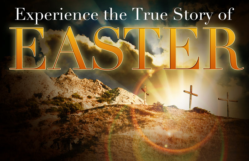 True Story Easter Postcard - Church Postcards