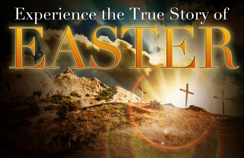 True Story Easter Postcard Church Postcards Outreach