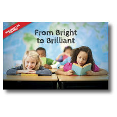 Bright to Brilliant Postcard