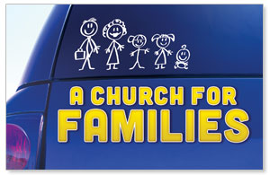 Church for Families DIY Postcard Packs