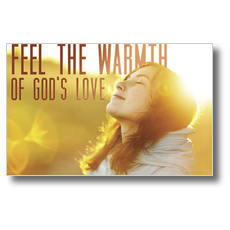 Feel The Warmth Postcard