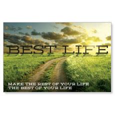 Best Life Postcard