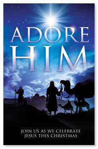 Adore Him Postcards