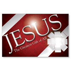 Jesus Greatest Gift Postcard