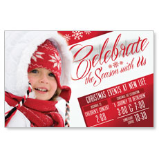 Celebrate the Season Postcard