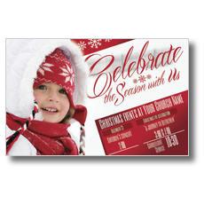Celebrate the Season Postcard