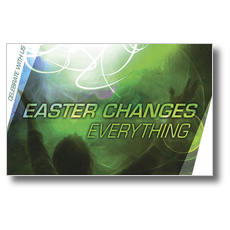 Easter Changes Postcard