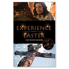 Experience Easter The Bible Postcard