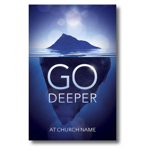 Deeper Iceberg Church Postcards