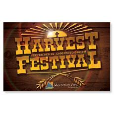 Harvest Festival Postcard