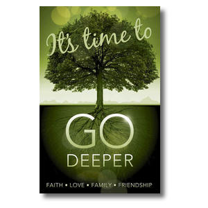 Go Deeper Time Postcards