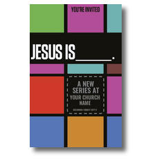 Jesus is____ Church Postcard