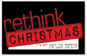 Rethink Christmas Postcards