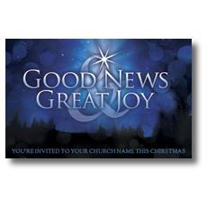 Good News Joy Postcard